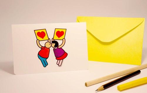 材质 :白色道林纸/ / 设计师及品牌简介 : upup举牌小人由网路