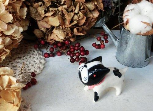 手捏陶瓷小动物