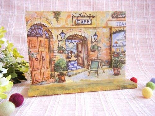 欧式咖啡馆相框/花庭园相框/挂画