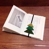 //聖誕新品// 書本的鬆緊帶。書籤  (含筆記本)