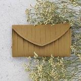 南庭系列包/手拿皮夾包(墨綠色)。手拿包。皮夾