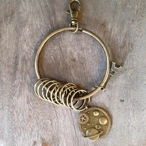 鑰匙圈/仿舊復古守門人大鑰匙圈-我的小宇宙