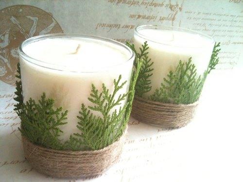 雪国森林香氛大豆蜡烛