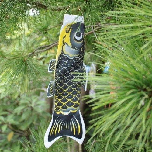 台湾鲤鱼旗30cm (黑)