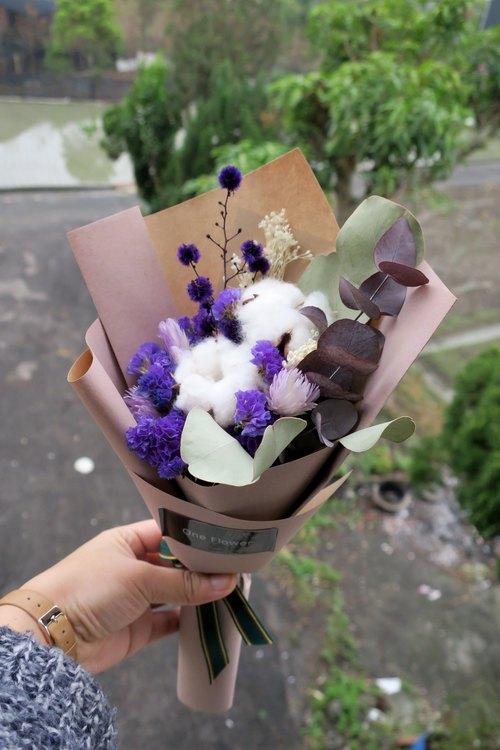 纸质花束制作图解