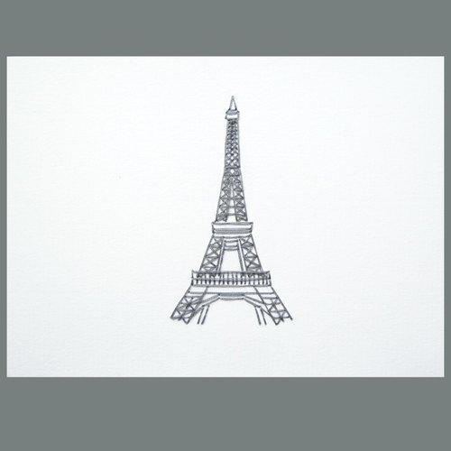 咭*- 法国 巴黎铁塔