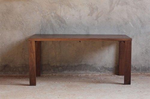 moment木们-熹工房-黑胡桃木-实木咖啡桌