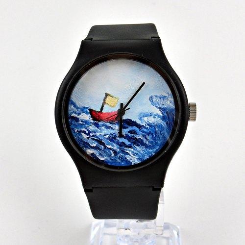 手绘手表- 乘风破浪