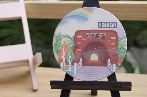 《TAIWAN VIEW》風景系列- 吸水杯墊 ‧ 台南-億載金城