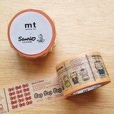 mt 和紙膠帶 mt x Sanrio【圖鑑(MTSARI03)】