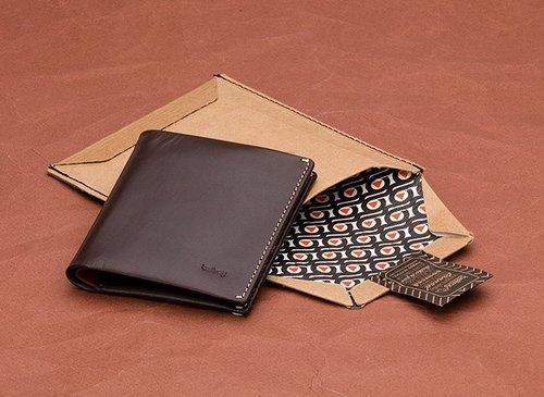 澳洲Bellroy Note Sleeve Wallet經典直式真皮皮夾 (Java 爪哇咖) By plain-me