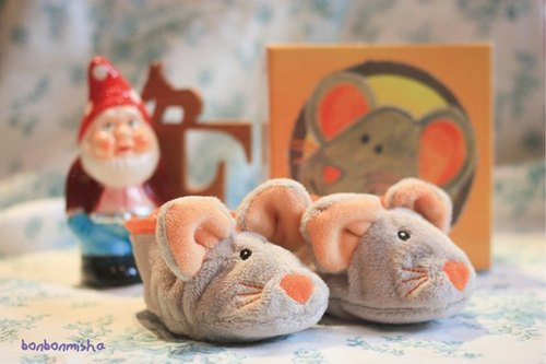 小老鼠好朋友可爱童鞋
