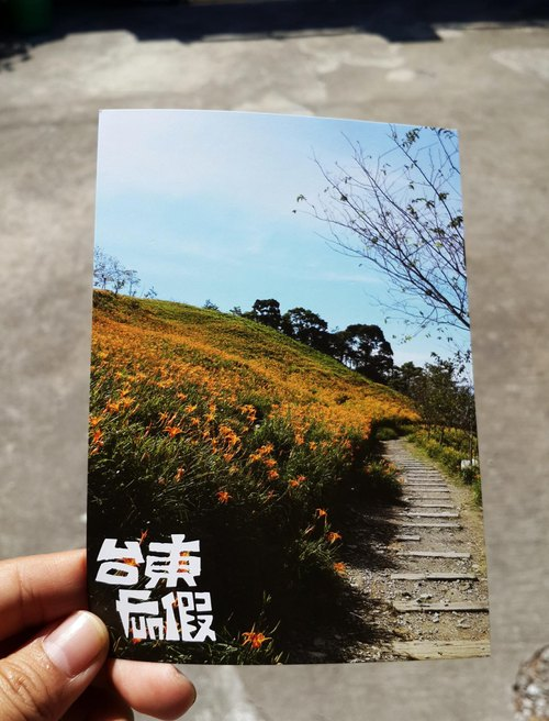 台東FUN假-太麻里金針山明信片