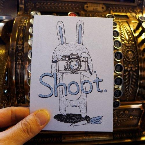 設計明信片|Shoot