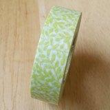 NICHIBAN Petit Joie Masking Tape 和紙膠帶【綠葉 (PJMT-15S008)】