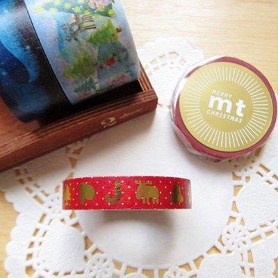 mt 和紙膠帶 2013 Christmas 聖誕款【金色聖誕(MTCMAS34)】