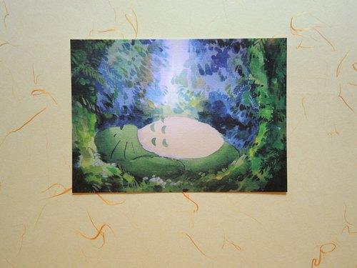 龍貓明信片