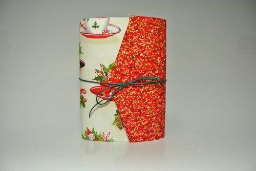 小瑕疵:圣诞交换礼物/手工笔记本/摺者