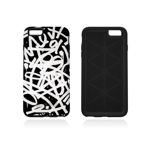 ipone炫彩分形几何型花纹分层手机壁纸