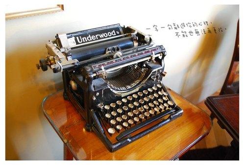 【DeaR DeeR鹿途中】明信片系列NO28 打字機