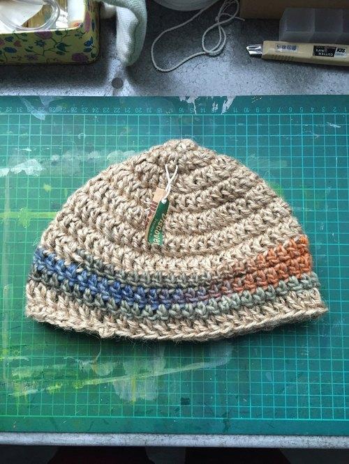 手工编织纯麻帽 - 海边的司厨 杂货 | pinkoi