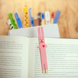 冰棒動物書籤 Ice pop animal bookmarker - 粉紅兔 Pink Rabbit