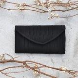 南庭系列包/手拿皮夾包(黑色)。手拿包。皮夾