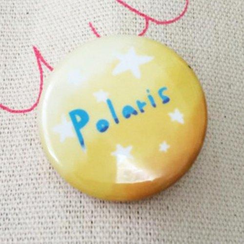 胸章 ‧北極星 Polaris 徽章