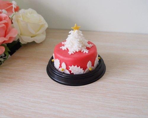 使用翻糖制作专属您的客制化圣诞节蛋糕