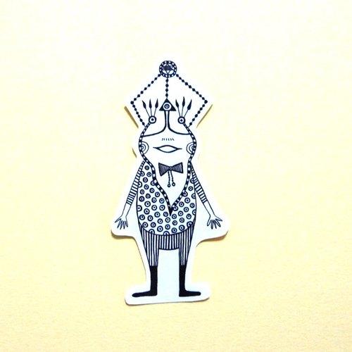 中山先生-風格貼紙-青蛙先生