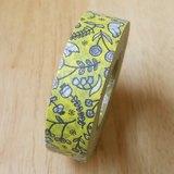 NICHIBAN Petit Joie Masking Tape 和紙膠帶【花鳥 (PJMT-15S009)】