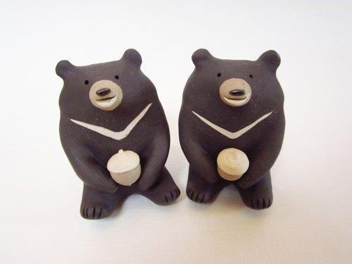 台灣黑熊與堅果