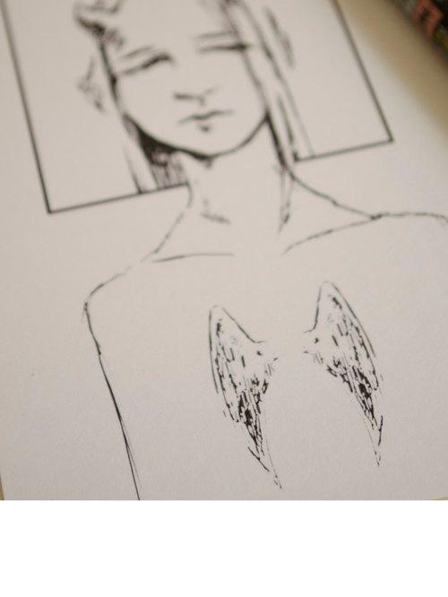 ARTtitude Tattoo刺青-系列明信片 設計師款 系列1- 曲解Misinterpretation