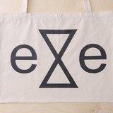 eye candle 滿版Logo胚布購物袋