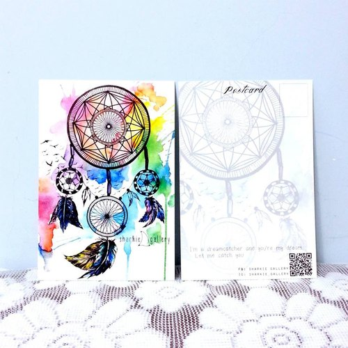 捕夢網 明信片 (Dreamcatcher Postcard)