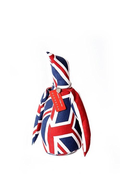 企鹅造型动物书档-英国国旗