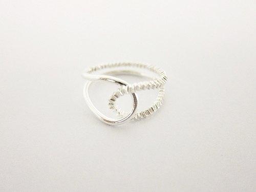 戒指缠绕方法图解