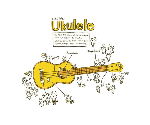 乌克丽丽 ukulele ii | - hahahana | pinkoi