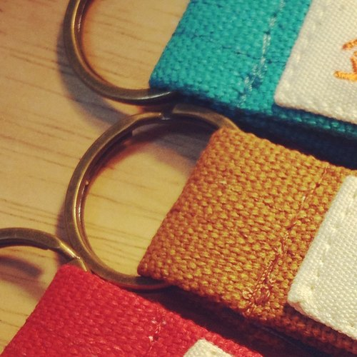 無單獨販售 加購商品 - 加 1 個古銅色鑰匙圈的環