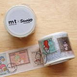 mt 和紙膠帶 mt x Sanrio【切手(MTSARI06)】