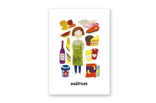 【 London A - Z 】明信片 - 英國皇家超市