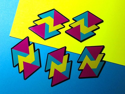 幾何圖形 // 貼紙