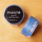 maste 和紙膠帶 Travel系列【飛機(MST-MKT120-A)】日本直營限定