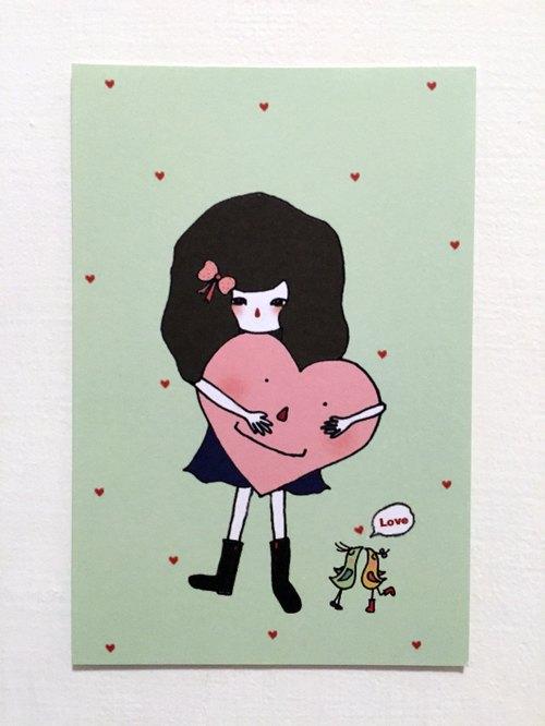 萬用明信片-- Love Dora.