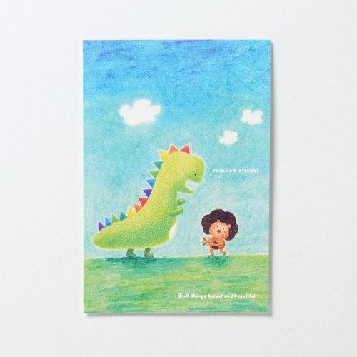 彩虹攻擊明信片 Rainbow Attack Postcard