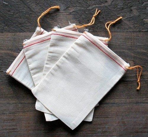 *People Tutu 自選品-素胚布 束口袋系列 (大; 5個一組)