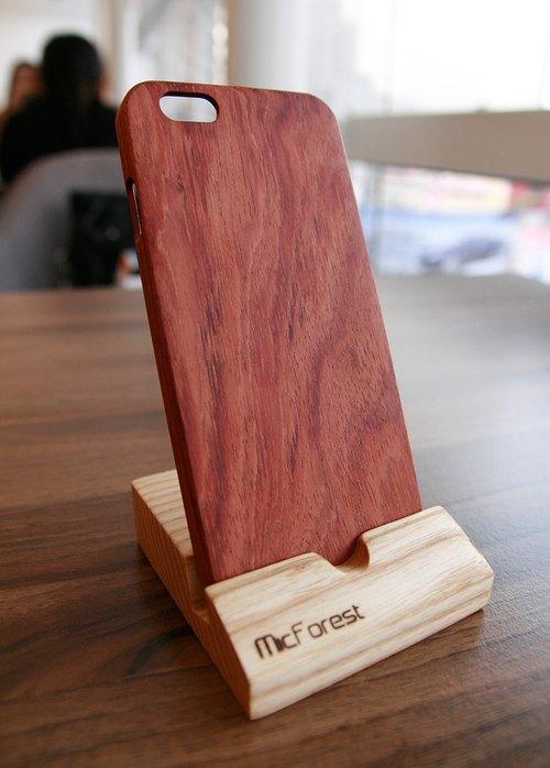 微森林.iphone 6 纯原木 木制手机壳 花梨木 c-rw01