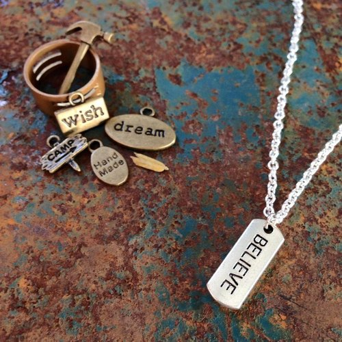【Story Necklace 故事項鍊】 Believe 堅信