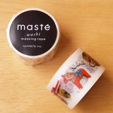 maste 和紙膠帶 Travel系列【紀念品(MST-MKT132-A)】日本直營限定