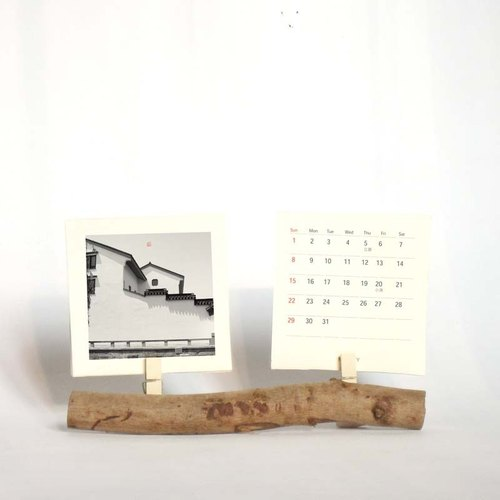 Mini Desk Calendar 2016 With Branch Stand Stocking